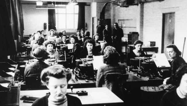 İkinci Dünya Savaşı'ndaki kadın şifre kırıcılar