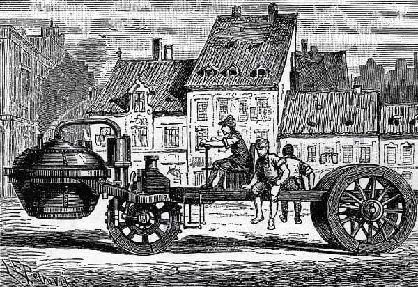 İlk buhar arabası - 1769 - 70
