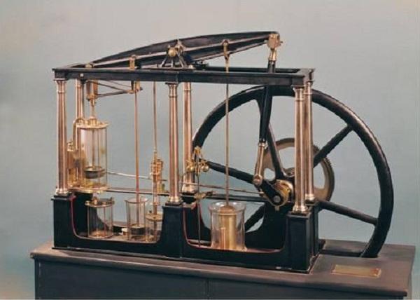 James Watt'ın buhar motoru - 1765