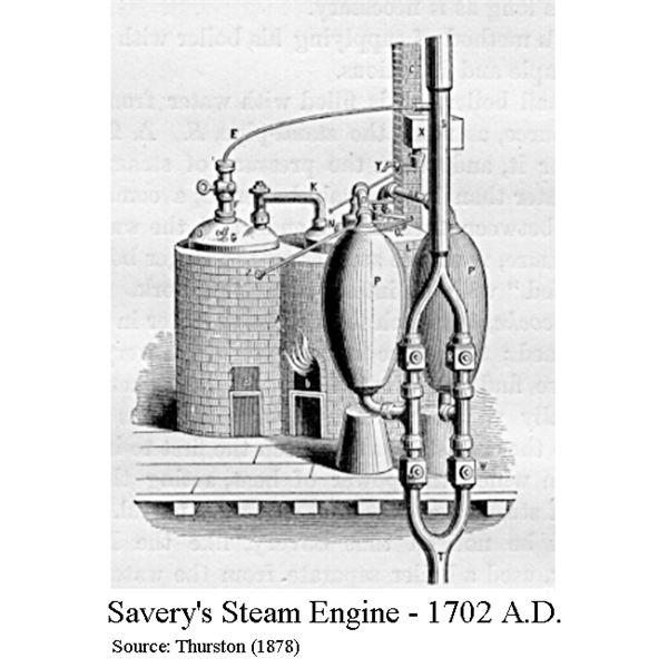 İlk yüksek basınçlı buhar motoru - 1698