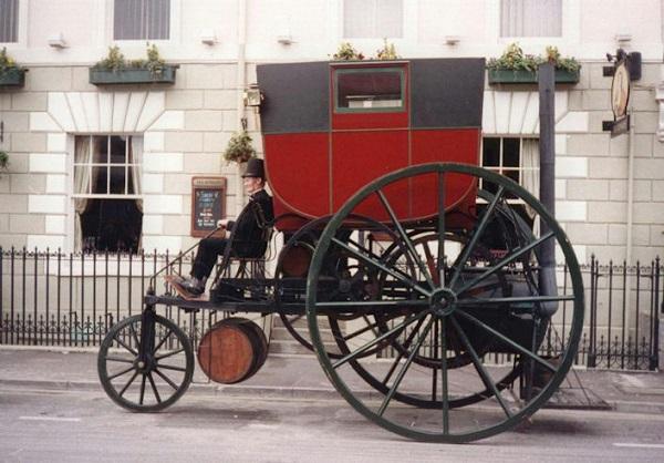 buhar teknolojisinin gelişiminde Trevithick'in buhar motoru - 1801-04
