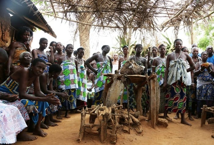 Vudu törenlerinin çıkış yeri Karayipler'deki Benin ve Togo'dur.
