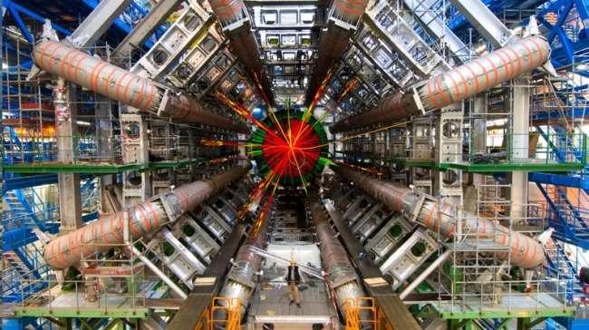 CERN'deki Büyük Hadron Çarpıştırıcısı