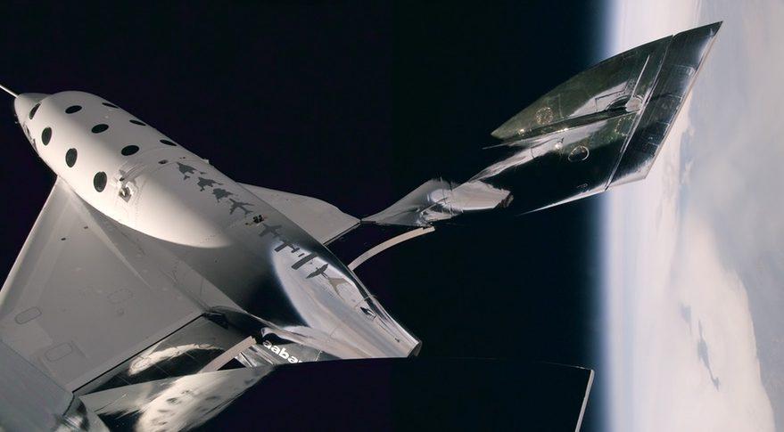 Virgin Galactic gemisi ilk kez uzaya ulaştı