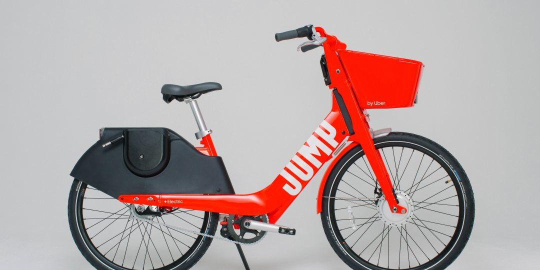 uber e-bisiklet jump