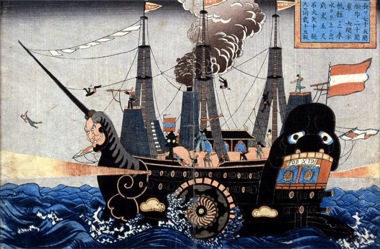 Japonya'nın batıya açılması