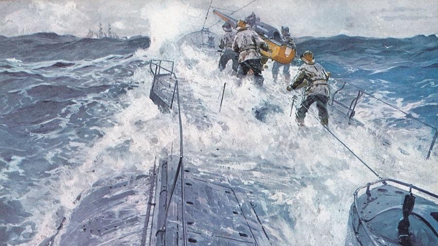 Denizaltı batırıldıktan 100 yıl sonra su üstüne çıktı