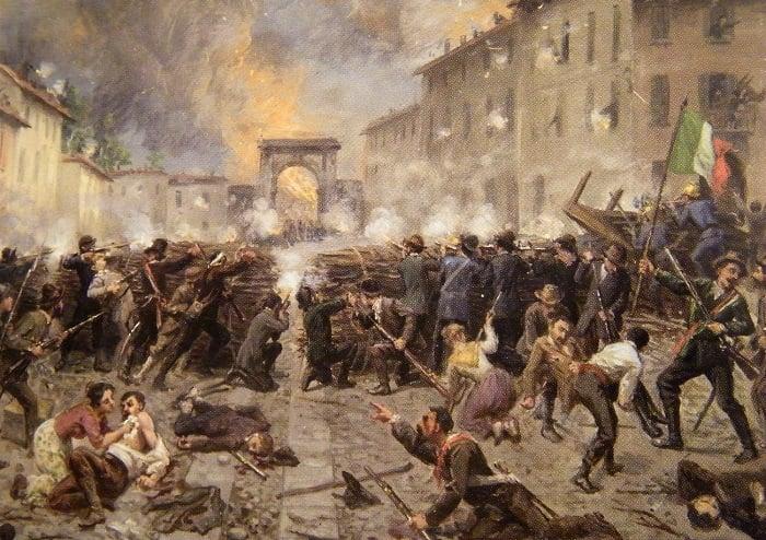 Risorgimento İtalya için ulusal bir uyanışı anlatmak için kullanılır