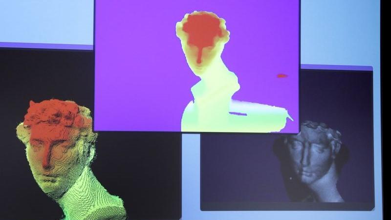 Sony'nin lazer yüz tanıma teknolojisi