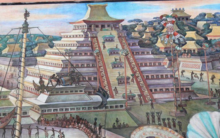 Aztek uygarlığının yıkılışı