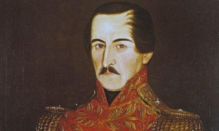 Francisco de Paula Santander / New Granada (şimdi Kolombiya) başkanı