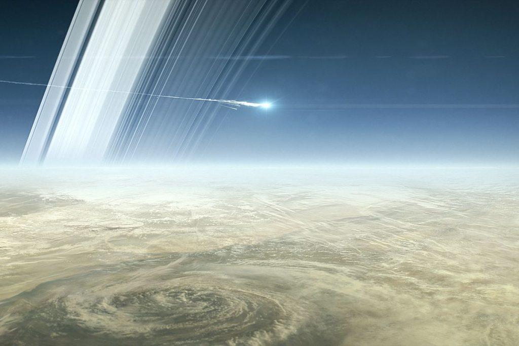 Satürn'ün neden halkaları vardır?