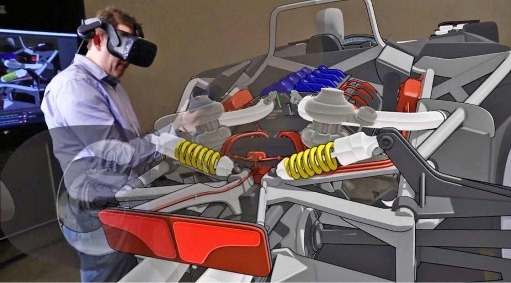 VR ile otomobil tasarlamak