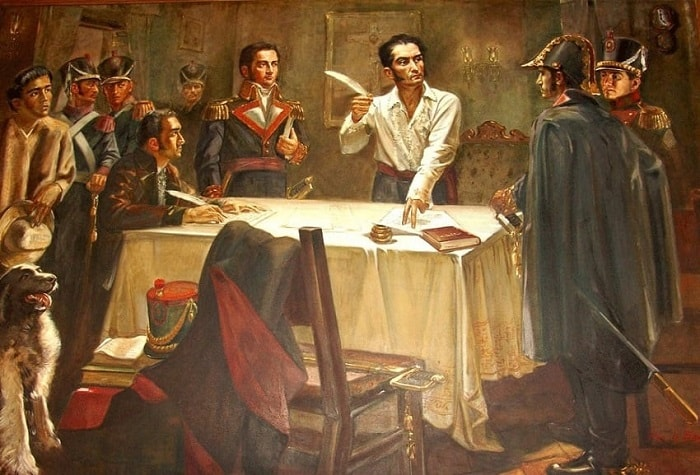 Güney Amerika'nın bağımsızlığı / Simon Bolivar