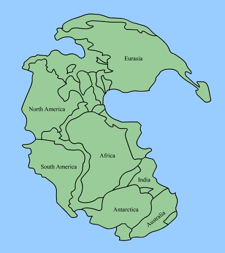 Kıtaların Kayma Teorisi nedir? Pangaea ve Alfred Wegener