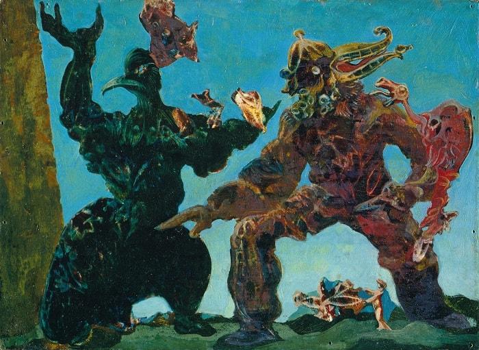 The Barbarians,1937 | Max Ernst / Dadaizm