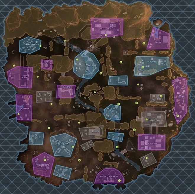 apex loot haritası map