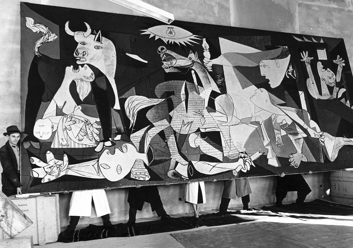 Soyut sanat akımları: Kübizm / Picasso / Guernica