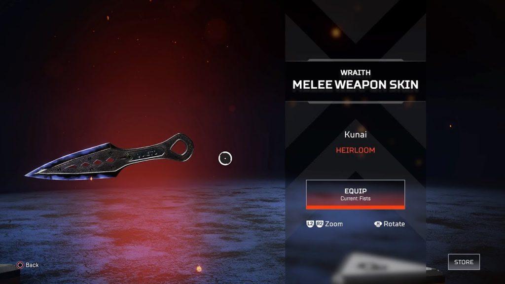 Wraith bıçağı