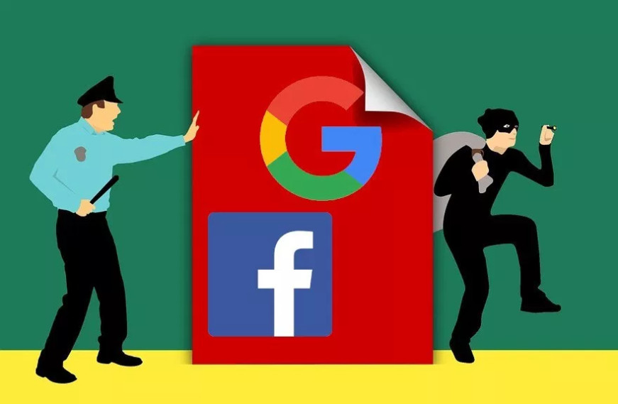 sahte fatura google facebook