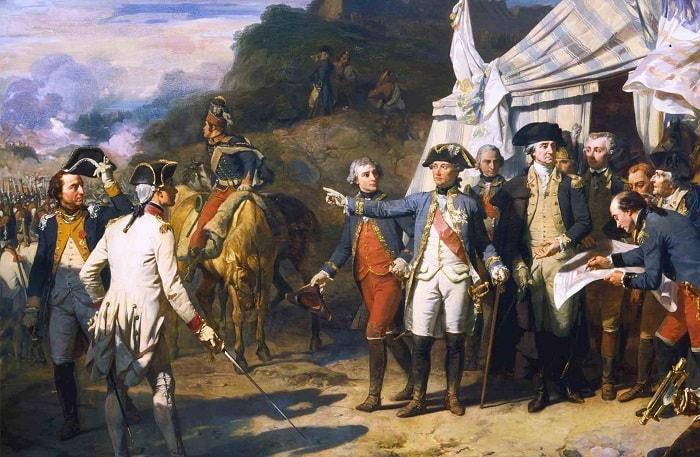 Fransız komutan Rochambeau Kontu