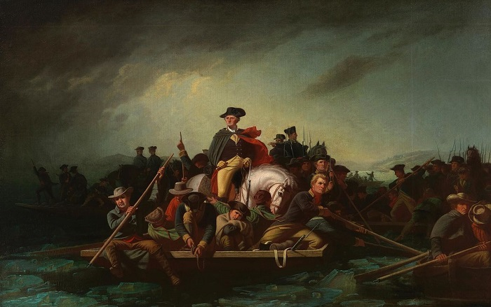 Amerikan Bağımsızlık Savaşı / George Washington's crossing of the Delaware River