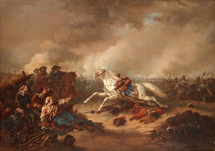 Otuz Yıl Savaşları'nın nedenleri / İsveç Kralı'nın Lützen Çarpışması sırasında öldürülme anının resmedilmesi
