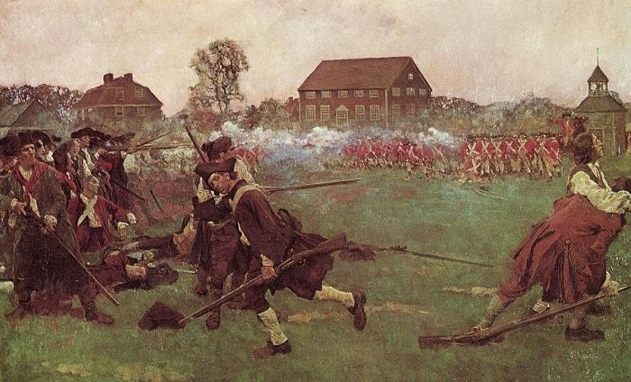 Amerikan Bağımsızlık Savaşı / Lexington 1775 Revolutionary War
