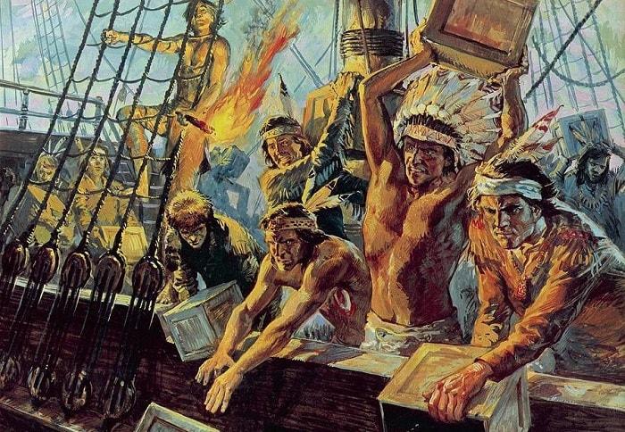 Amerikan Bağımsızlık Savaşı / Boston Tea Party