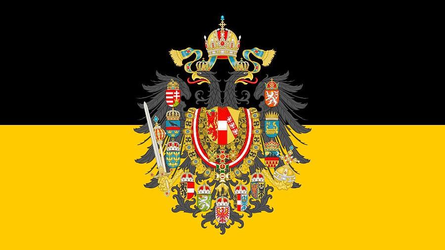 habsburg bayrağı habsburglar