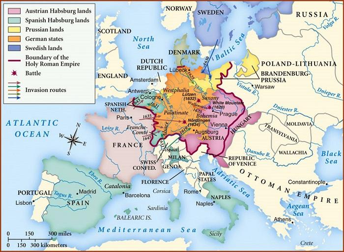 Otuz Yıl Savaşları'nın sonuçları / Vestfalya Antlaşması