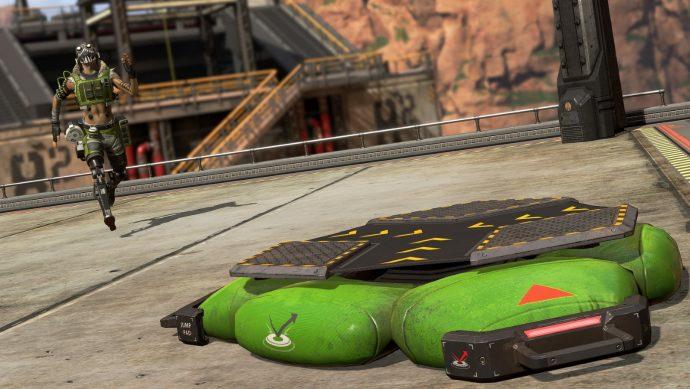 octane apex legends launch pad