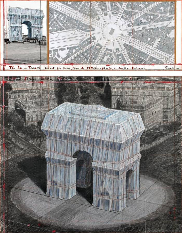 Arc de Triomphe (Zafer Takı)