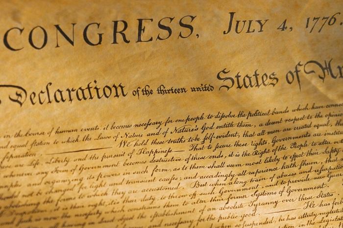 4 Temmuz 1776, Bağımsızlık Bildirgesi
