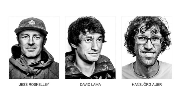 en iyi dağcılar Roskeley, Lama ve Auer