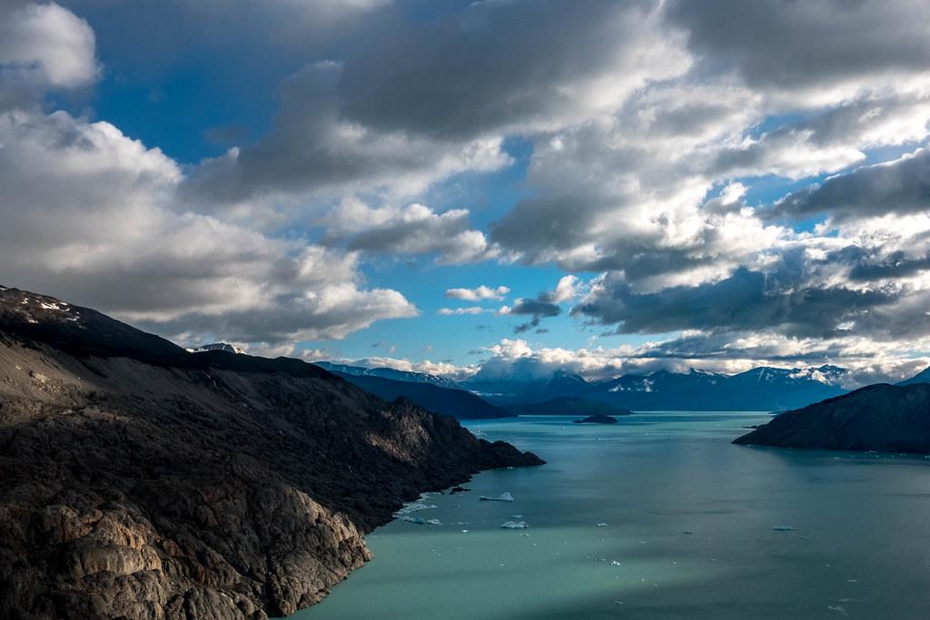 dünyanın en derin gölleri arasında Lago O'Higgins