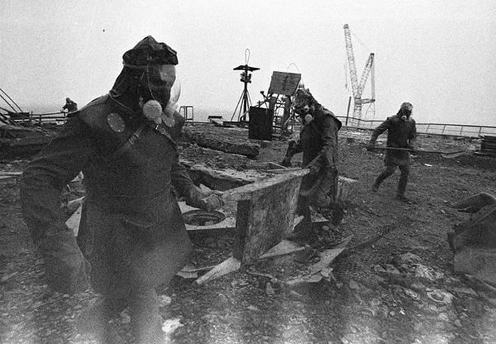 Çernobil radyasyon fotoğraf