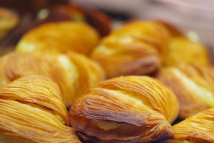 Sfogliatella / Napoli'deki en lezzetli yemekler