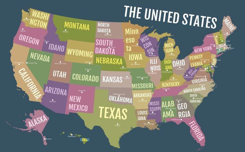 abd eyaletler suç oranı amerika