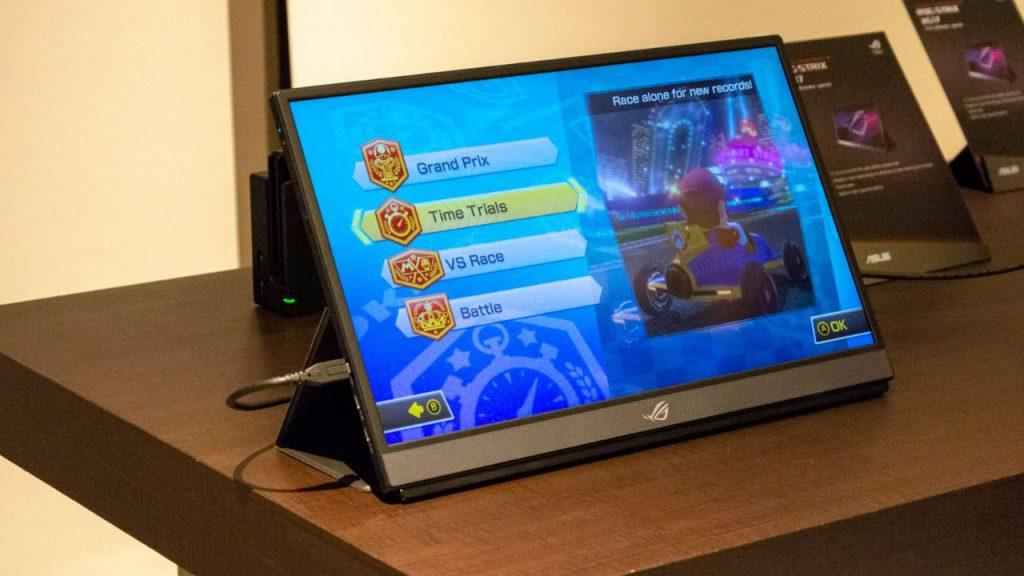 Taşınabilir oyuncu monitörü Asus ROG Strix XG17