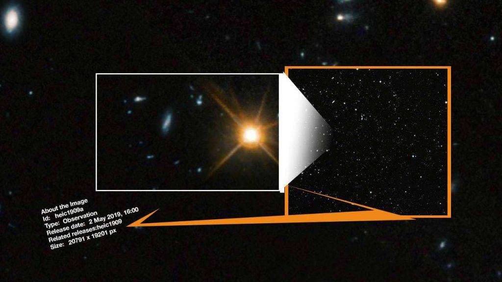 uzay evren derin görüntü galaksi fotoğraf