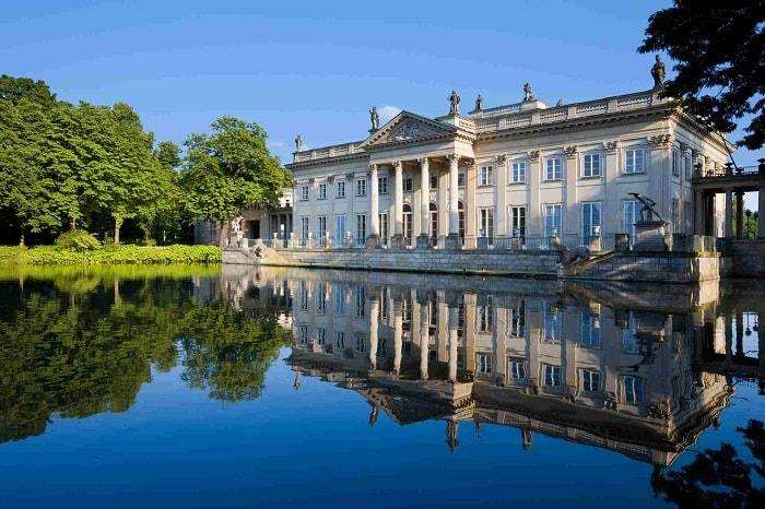 Palais lazienki / Doğu Avrupa'nın kaleleri