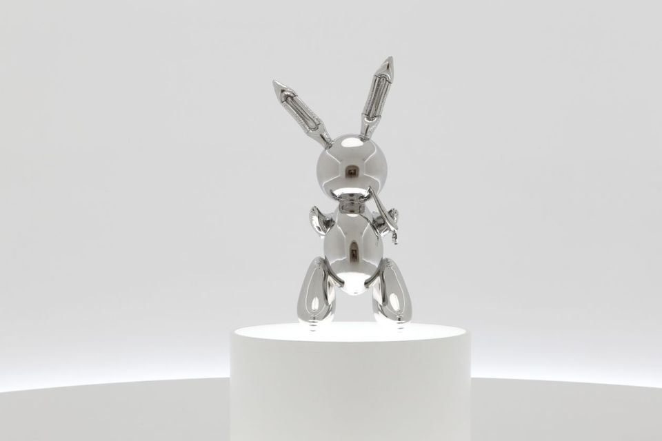 tavşan rabbit 1986 91 milyon dolarlık heykel