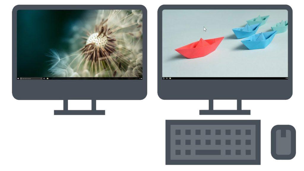 Dizüstüyü PC klavyesi veya faresi yapmak