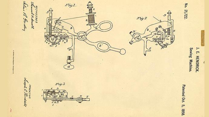 Dikiş makinesi makası