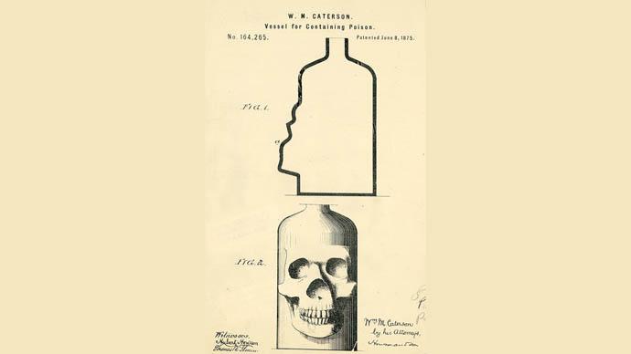 Zehirli şişe