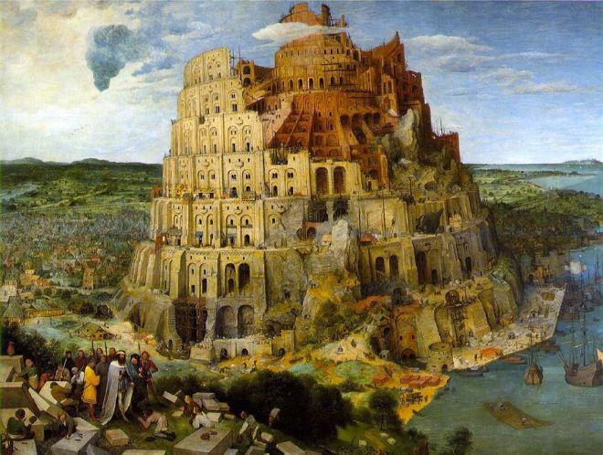 Babil külesi Babil'in yıkılışı