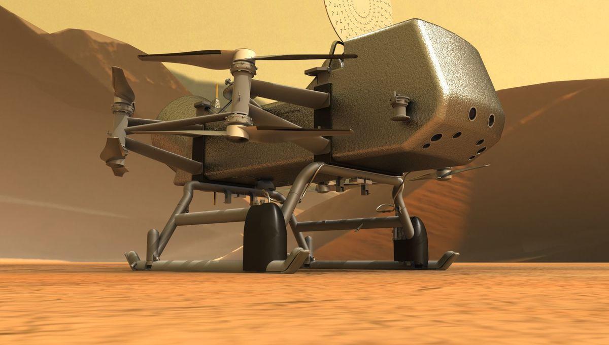 satürn titan dragonfly