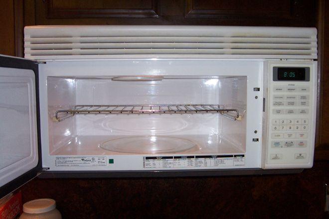 ilk eski mikrodalga fırın
