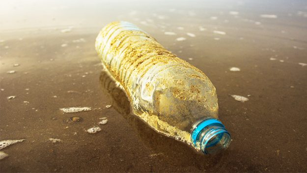 mikroplastik atık şişe su